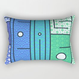 Play on words | Peace Please Rectangular Pillow