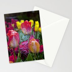 Glass Tulips  Stationery Cards