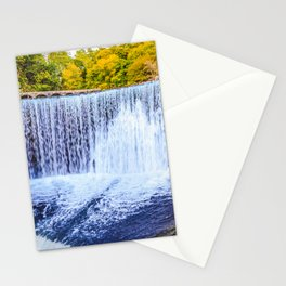 Monk's waterfall Stationery Cards