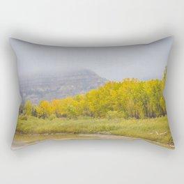 Theodore Roosevelt National Park North Unit, North Dakota 7 Rectangular Pillow