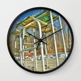 Lifeguard Chair. Wall Clock