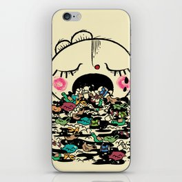 Save the fishes iPhone Skin