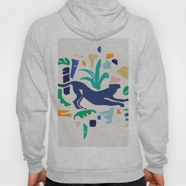 Modern Shapes / Panther and Palm Hoody