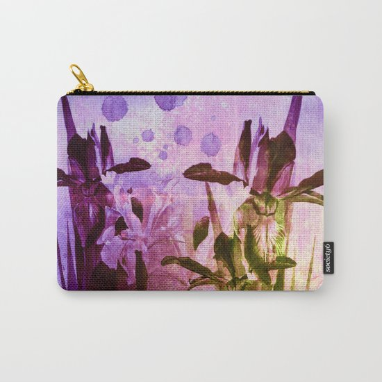 Iris and light Carry-All Pouch