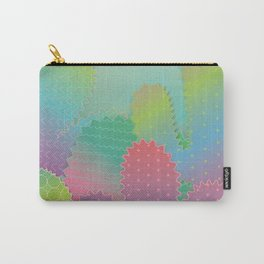 Colorful Summer Cacti Garden Carry-All Pouch