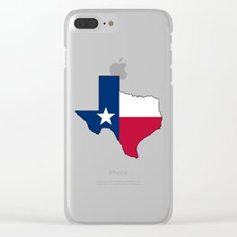 Texas Clear iPhone Case