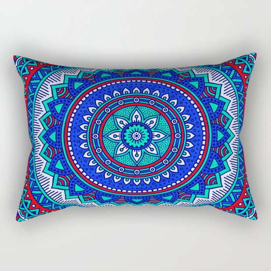 Hippie mandala 28 Rectangular Pillow