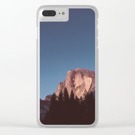 Yosemite Sunset III Clear iPhone Case