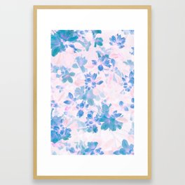 Azalea Japonica Inversion Framed Art Print