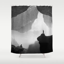 Parallel Isolation Shower Curtain