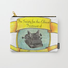 The Society for the Ethical Treatment of Typewriters Carry-All Pouch