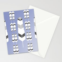 Ultravioletfeatherdesign Stationery Cards