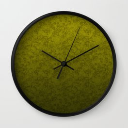 Olive marble Wall Clock