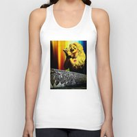 hedwig Tank Tops featuring Midnight Radio - Hedwig and the Angry Inch by Danielle Tanimura