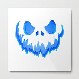Evil Ghost Metal Print