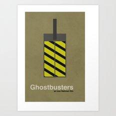 Ghostbusters Art Print
