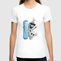 targaryen T-shirts featuring SNOW MAN OLAF by BeautyArtGalery
