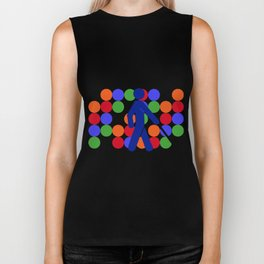 COLOR BLINDNESS Biker Tank