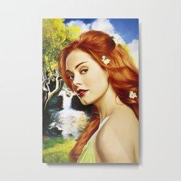Charmed Nymph Metal Print