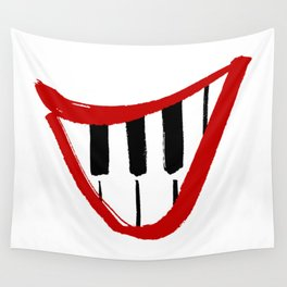 Forte piano smile Wall Tapestry