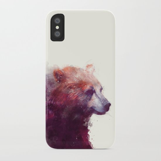 Bear // Calm iPhone Case