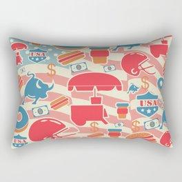 Murica Rectangular Pillow
