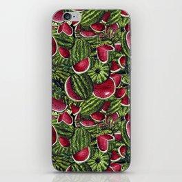 Watermelon Pattern Design iPhone Skin
