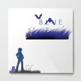 Blue Version Metal Print