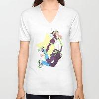 dmmd V-neck T-shirts featuring Noiz by Meex Art