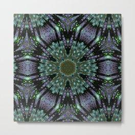 Unbelievable Mirror Mandala 2 Metal Print