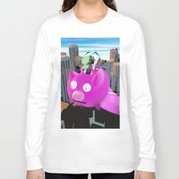 invader zim Long Sleeve T-shirts featuring Invader Zim by inusualstuff
