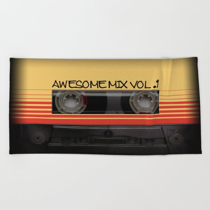 Awesome Mix Vol. 1 Beach Towel