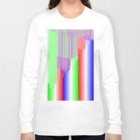 pivot Long Sleeve T-shirts featuring R Experiment 3 (quicksort v1) by X's gallery