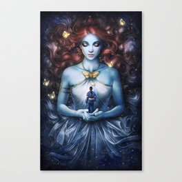 Strange the Dreamer Canvas Print