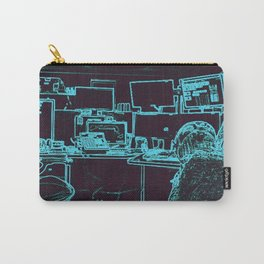 9-1-1 blue Carry-All Pouch