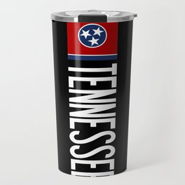 Tennessee: Tennessean Flag Travel Mug