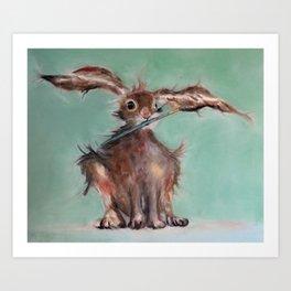 The Wild Hare Studio Helper Art Print