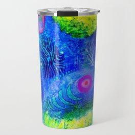 abstract #204 Travel Mug