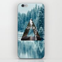 bastille iPhone & iPod Skins featuring Bastille - Overjoyed by Thafrayer