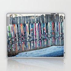 Skis Laptop & iPad Skin