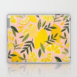 Lemon Blooms – Blush Palette Laptop & iPad Skin