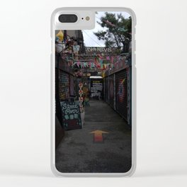 Path of Discovery Clear iPhone Case