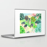 psychedelic Laptop & iPad Skins featuring Psychedelic by Risahhh