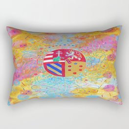 Arms of Marie Antoinette Rectangular Pillow
