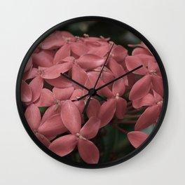 Jungle Flame Wall Clock
