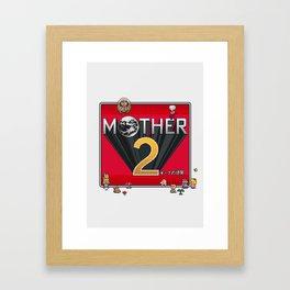 Alternative Mother 2 / Earthbound Title Screen Framed Art Print