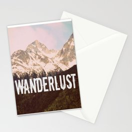 Wanderlust | Mountain Peaks Stationery Cards