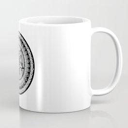Captain's Shield Mandala Coffee Mug