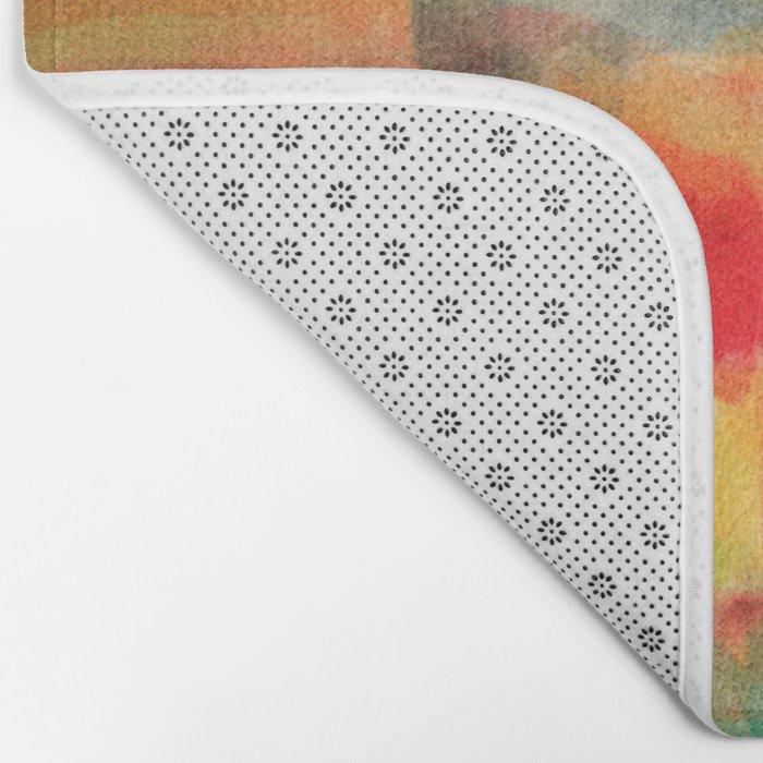 Watercolor/Abstract 2 Bath Mat