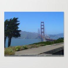 Golden Gate Bridge from the Presidio Canvas Print